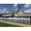 USS Gabrielle Giffords commissioning Port of Galveston June 10 2017 - U.S. Navy photo by Lt. Miranda Williams