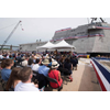 USS Manchester (LCS 14) commissioning ceremony in Portsmouth, N.H. (Photo: GE Marine Solutions)