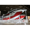 The suspension boat at the Japan International Boat Show 2018 (Photo: Yanmar)