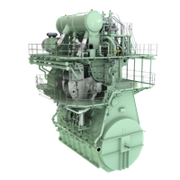 MAN B&W 5G70ME-GA engine with EGR system (Image: MAN Energy Solutions)