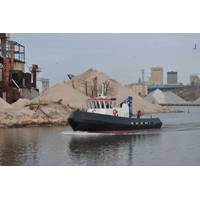60-foot work boat for the Port of Milwaukee.