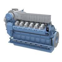 Bergen B32:40V12ACD engine (Image: Rolls-Royce)