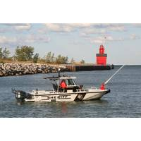 Boston Whaler 27' Vigilant patrol boat: Photo credit Brunswick Commercial & Government Products