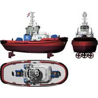 ART 80-32 class Rotor® Tug: Image credit Robert Allan