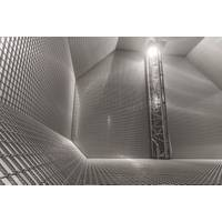 GTT has developed the Mark membrane system, a cryogenic liner for LNG tanks directly supported by the ship's hull. Pictured is an LNG tank based on the technology. (Photo: © GTT / Roland Mouron)