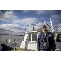 Dillon Entrekin, port engineer at Louisiana's Belle Chasse Marine Transportation.