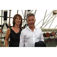 Douwe and Aleida Visser, owners of Visser Shipping. Photo: Visser Shipping
