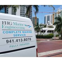 FHGME provides mobile service to engine rooms of yachts. Photo courtesy FHGME.