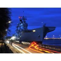 HMS Illustrious in Copenhagen: Photo credit MOD