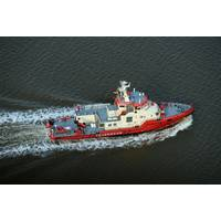 "Following the delivery of fireboat ""Branddirektor Westphal"", the Hamburg Port Authority (HPA) has ordered two more fire-fighting vessels Photo Credit: Fassmer"