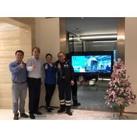 Yara Marine Opens Shanghai Office. From left to right: William Gao, Michael Chang ( general manager) Alice Li, John Jiang (Photo: Yara Marine)