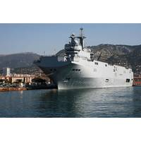 Mistral-class Ship: Photo credit Wikimedia CCL