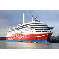 A Norsepower rotor sail was installed on board the passenger vessel Viking Grace (Photo: Norsepower)