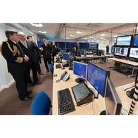 Opening of Aircraft Carrier Training Facility: Photo credit MOD