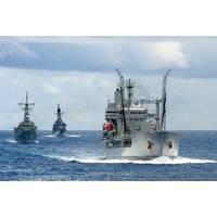 Operation Kakadu Warships: Photo credit RAN