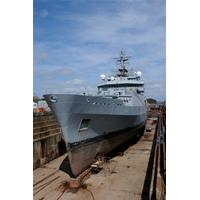 HMS Echo: Photo credit A&P Falmouth