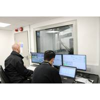 Cox Powertrain engineers analysing test data at company HQ in Shoreham-by-Sea, UK (Photo: Cox Poowertrain)