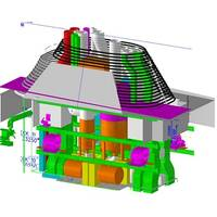 quasi-3D illustration of the scrubber system (courtesy Fincantieri Cantieri Navali Italiani S.p.A.)