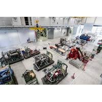 Rolls-Royce Power Systems will be use the new facilities to test new combustion processes, advanced technologies for electronic regulation and control and, from mid-2016, alternative fuels such as gas. Rolls-Royce Power Systems has invested some 40 million euros in the new testing facilities at MTU. (Photo: Rolls-Royce)