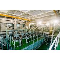 RT-flex58T, version D engine in the engine room of MV Shansi