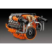 Scania 1,150 HP 16-liter V8.