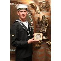 Able Seaman César Flores: Photo credit IMO