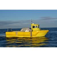 Seismic Survey Boat WP 950: Photo credit Westplast AS