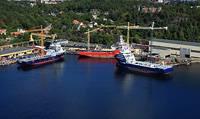 VARD shipyard in Brevik