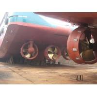 Steerprop Propulsion Units:Photo courtesy of Steerprop
