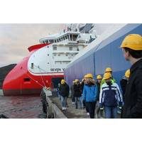 Students at Ulstein Facility: Photo credit Ulstein Group
