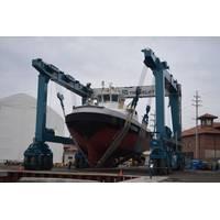 Travelift Hull 9201: Photo credit Great Lakes Shipyard