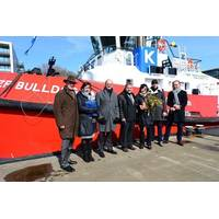 Tugboat Bulldog Naming Ceremony: Photo credit KOTUG