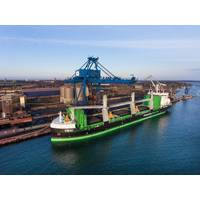 MS Viikki: the world's first LNG-fueled bulk carrier (Photo: Yaskawa Environmental Energy / The Switch)