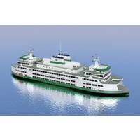 Washington State Ferry Depiction