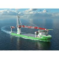 The world's first LNG fueled offshore construction vessel being built for DEME will be powered by Wärtsilä. (Photo: Wärtsilä)