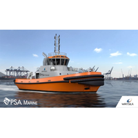 "Wärtsilä will design and equip one of PSA Marine (Pte) Ltd (""PSA Marine"")'s newest harbor tugs. (Photo: Wärtsilä)"