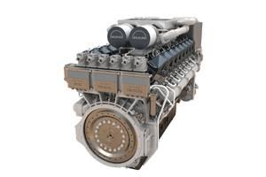 175D marine diesel engine: Image MAN