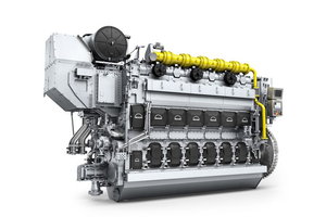 The MAN 35/44DF engine (Photo: MAN Energy Solutions)