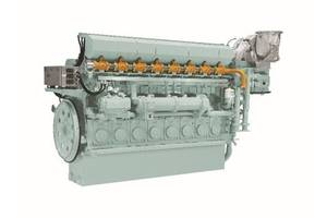 8EY26LDF Dual Fuel Marine Engine. Photo: Yanmar