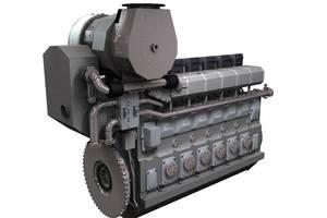 MAN 9L32/44CR engine: Image credit MAN Diesel & Turbo
