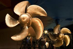 Azipod  propulsion installed on a cruise vessel (Photo: ABB)