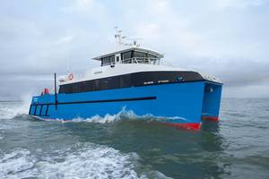 24m Catamaran Scientific Research Vessel.