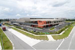 The new Caterpillar Marine Center Singapore  (Photo: Caterpillar Marine)