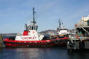 Crowley Maritime tugboat Guide (Photo: Caterpillar)