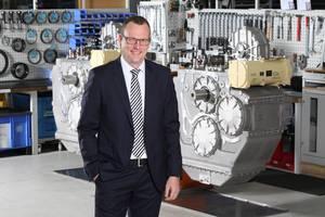 Daniel Härter, VP Industrial Technology, Head of  Business Unit Marine Propulsion Systems, ZF Marine