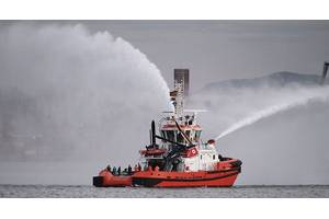 St Elmo, the latest RAmparts 3000W Class tug designed by Robert Allan Ltd. of Vancouver, Canada.