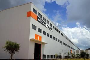 The new factory: Rendering courtesy of Wärtsilä Yuchai Engine Co