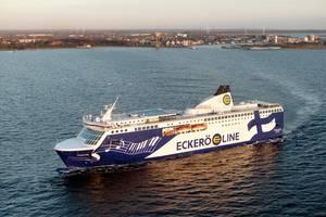 Ferry MS Finlandia in operation. (Copyright Eckerö) Photo Eckerö
