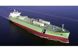 BW Gemini is the world's first VLGC to run on LPG fuel. (Photo: BW LPG)