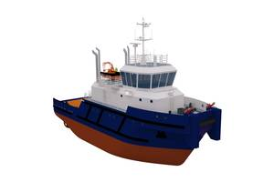 General arrangement drawing and renderings are courtesy of the Marine Engineering Bureau.